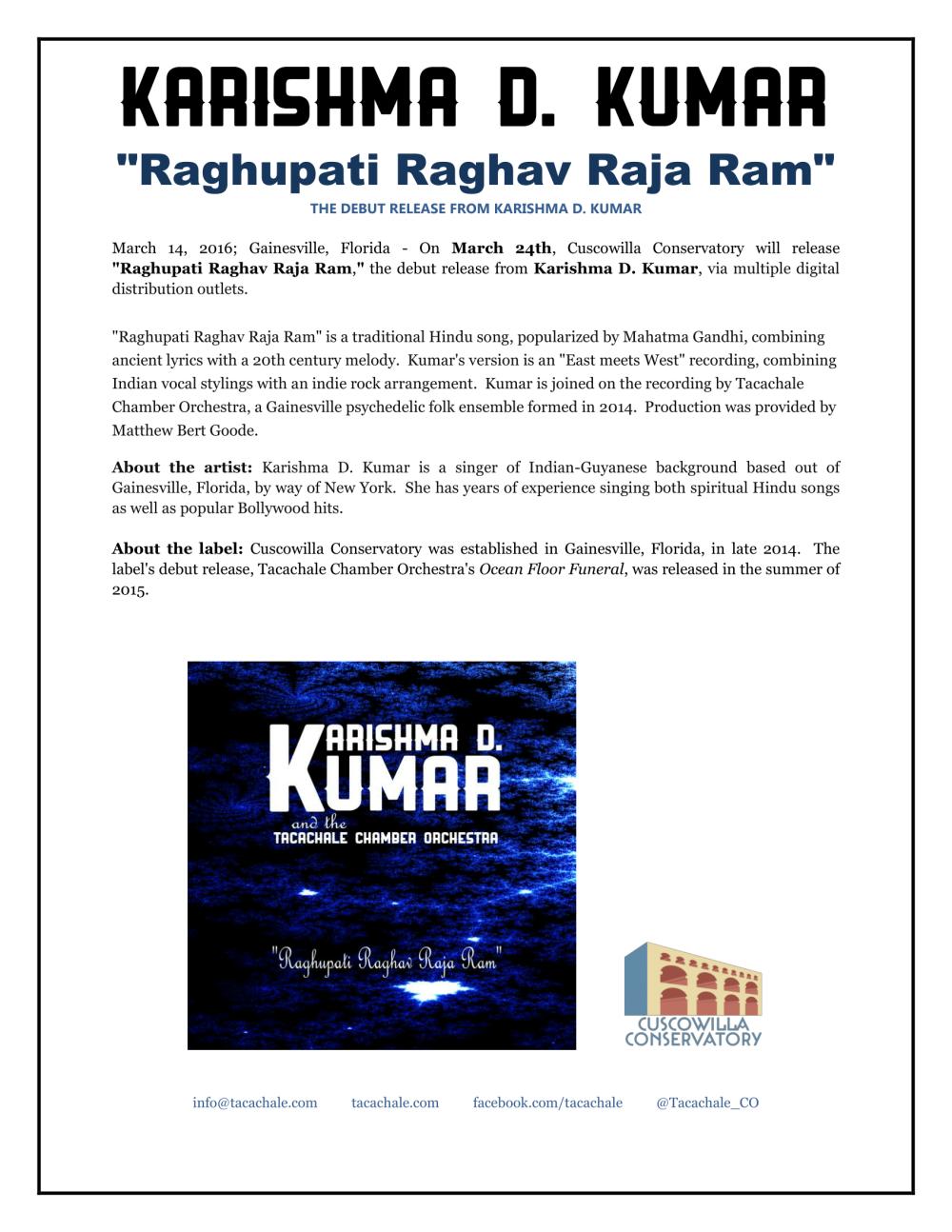 Raghupati Raghav Raja Ram release info-1